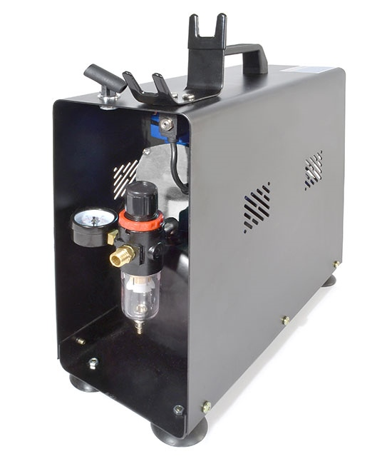 MicroLux Twin-Cylinder Portable Air Compressor