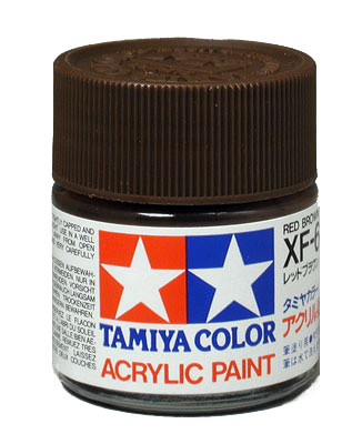 Car Paint Detector >> Military Acrylic Colors XF-64 Red Brown (¾ oz Bottle) by Tamiya @ dallasmodelworks.com