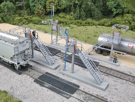 Four Modern Loading Racks By Walthers Dallasmodelworks Com