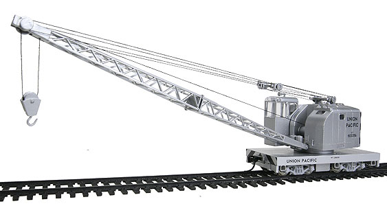 american crane  unpowered  union pacific by walthers