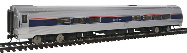 85 39 amfleet ii lounge lighted interior amtrak by walthers. Black Bedroom Furniture Sets. Home Design Ideas
