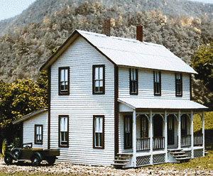 Two story farm house by american model builders inc for 2 story farmhouse