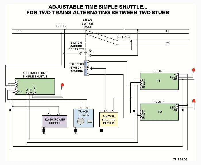 Simple Shuttle Circuit By Micro