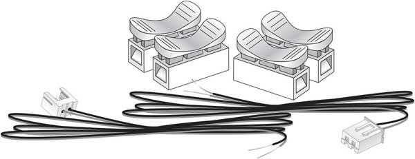 linker plugs  jp5685  by woodland scenics